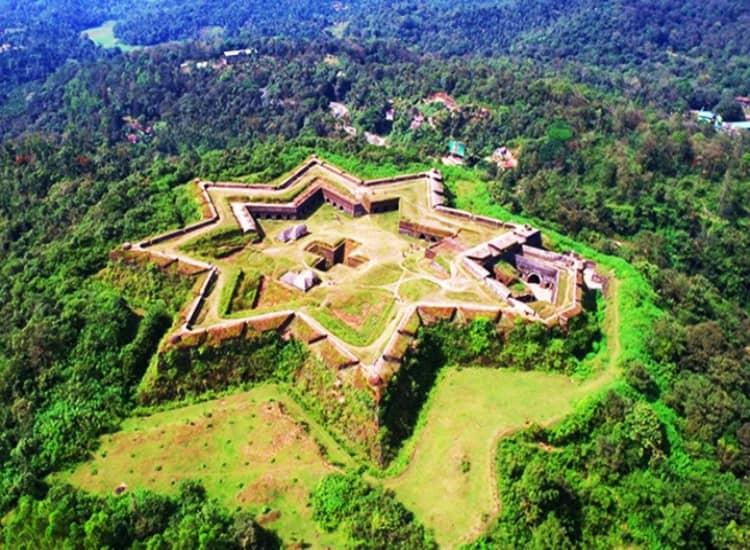 Manjarabad fort in Sakaleshpur