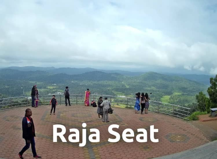 Raja's seat in coorg