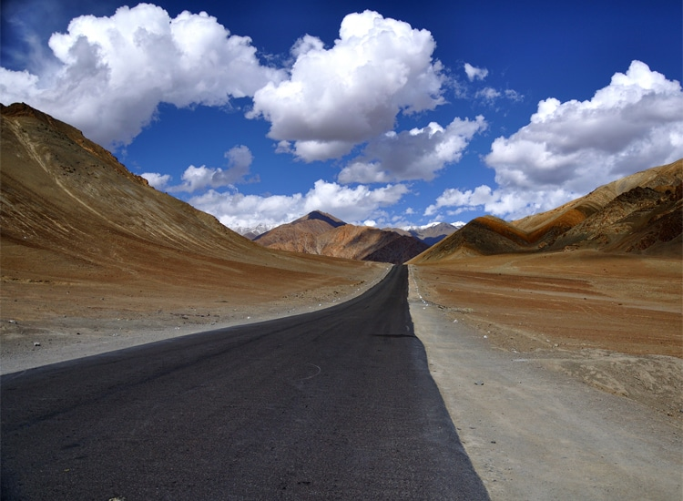 The Gravity Hill, Ladakh India
