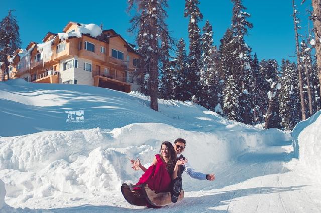 Auli honeymoon