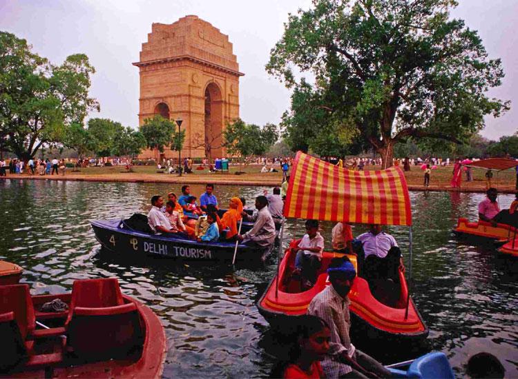 picnic at india gate