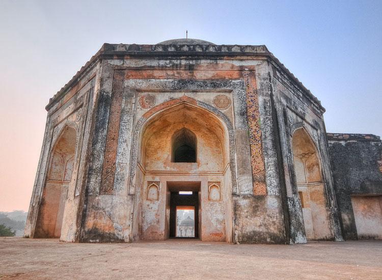Mehrauli Archaeological Park in Delhi