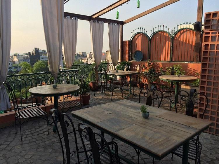 Amalfi Restaurant in Delhi