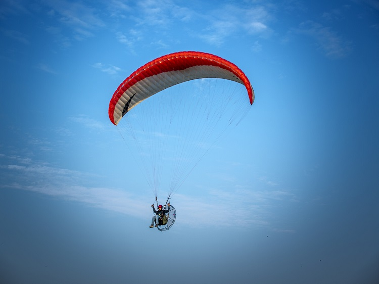 Paragliding in Haryana