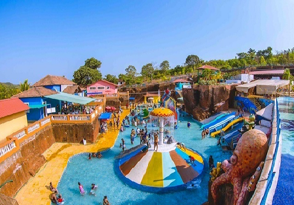 Splashdown Waterpark in Goa