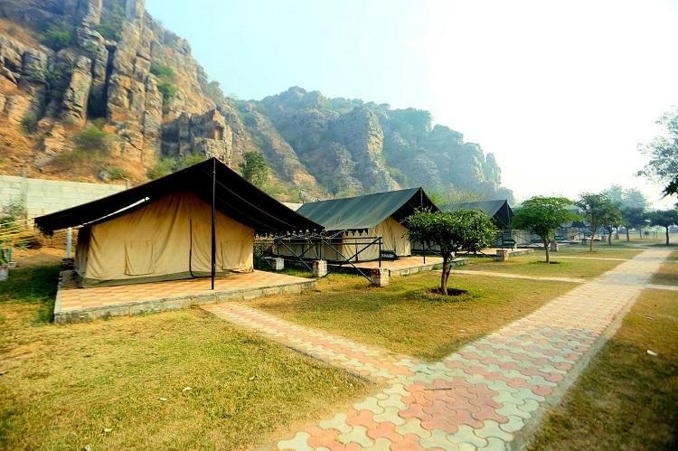 Camp Wild Dhauj, Gurugram Faridabad Border