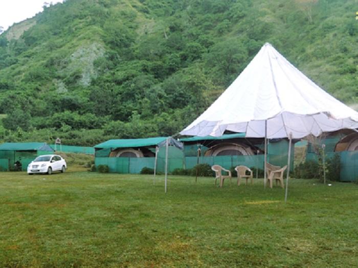 Camping at Morni Hills (253.8 km from Delhi)