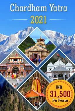 Chardham Yatra 2021 Package @ Cost 31,500