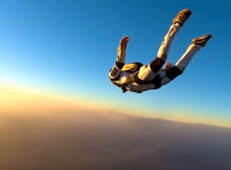 Skydiving in Deesa, Gujarat