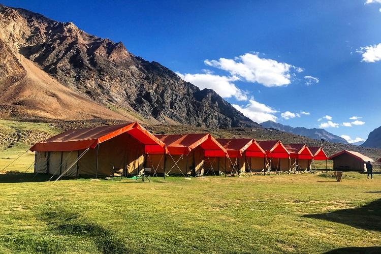 Goldrop Camp, Sarchu, Leh-Manali Highway