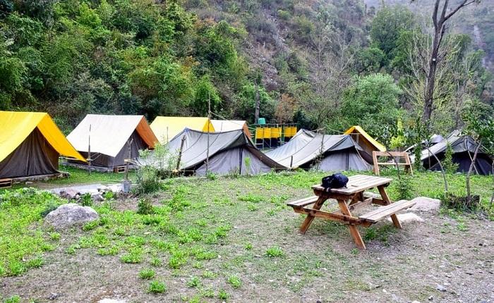 Nainital River Camp (397.5 km from Delhi)