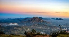Nandi Hills Near Bangalore in June with family