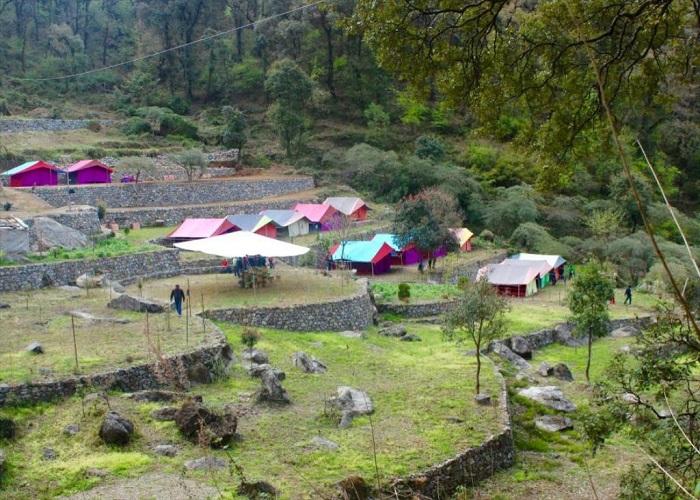 Camp Twilight (298.7 km from Delhi)