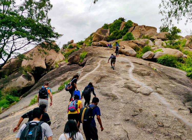 Yelagiri trek near Bangalore in April