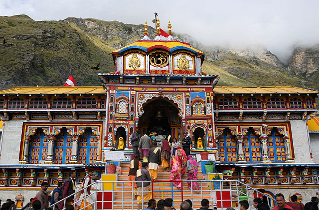 badrinath dham darshan on 5th day