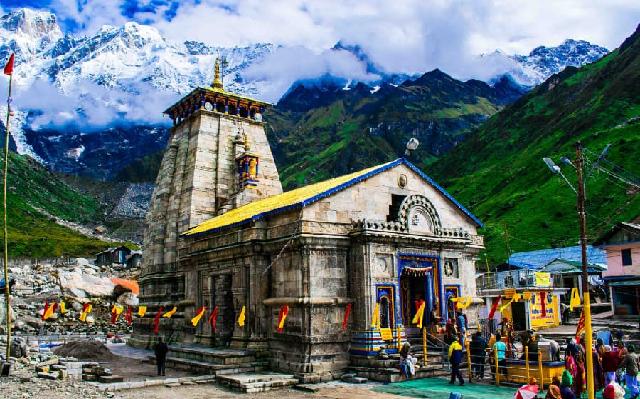 kedarnath dham darshan on 4th day