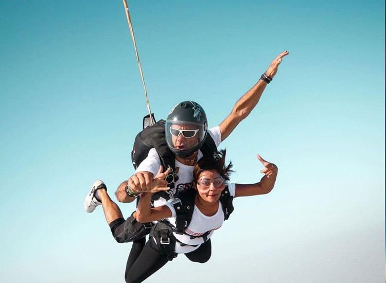 Skydiving in Pondicherry
