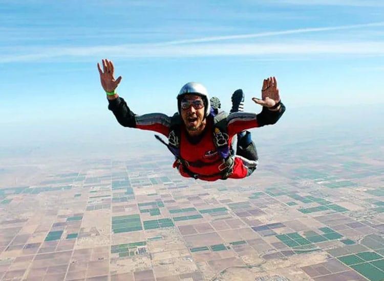 Skydiving in Hyderabad