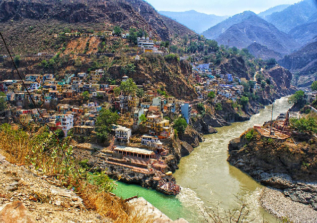 Alaknanda and River Bhagirathi