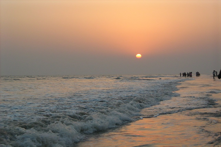 Bakkhali Beach near Kolkata