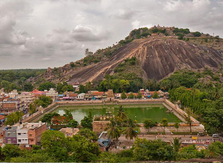 Shravanabelagola near Bangalore in Karnataka