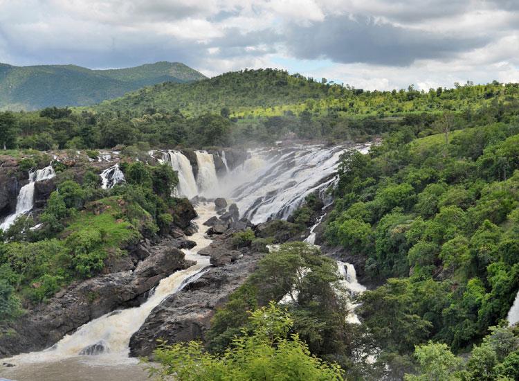 Shivanasamudra Falls near Bangalore in Karnataka