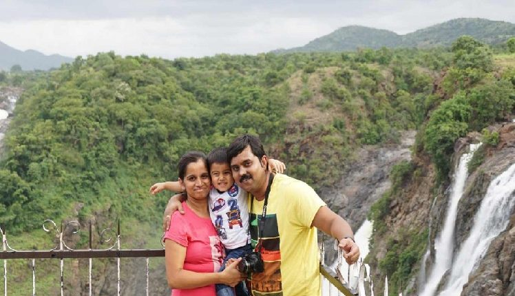 Near Bangalore with family
