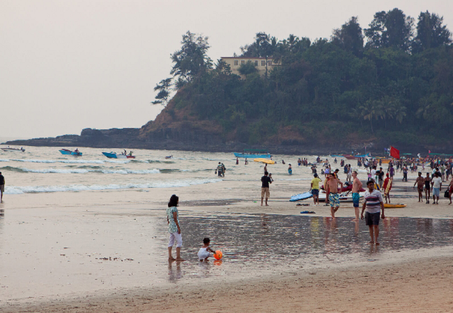 2nd day beach explore in goa