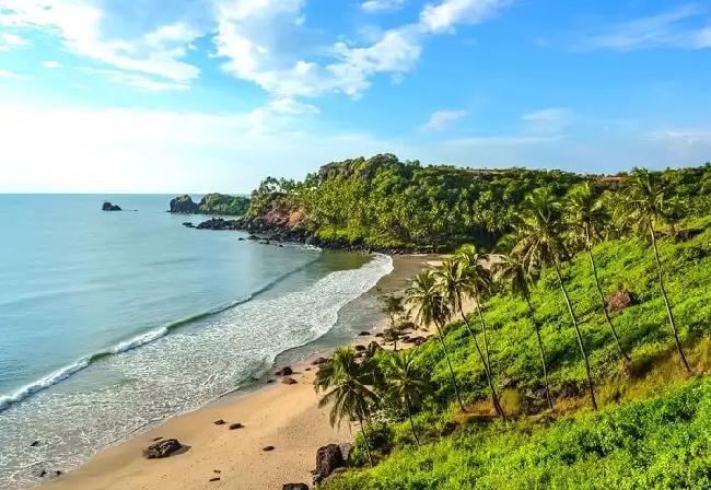 4rd day explore beach in Goa
