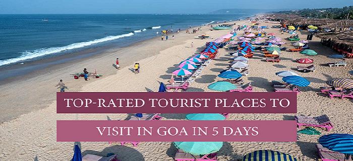 5 days trip to goa