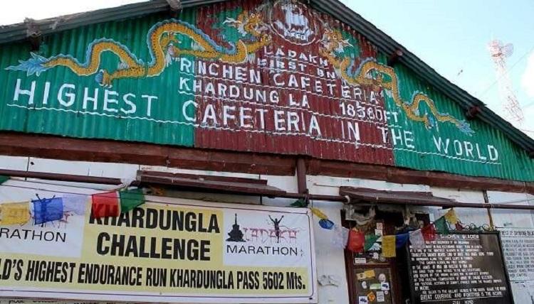 Ladakh - The Rinchen Cafeteria