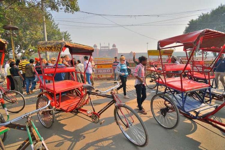 Ride a Tuk Tuk in Delhi