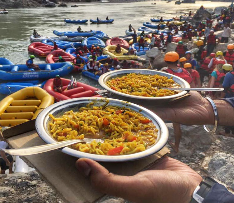 Rishikesh - Maggi Point, Rafting Miles