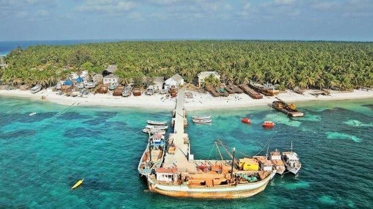 Some Lakshadweep Islands