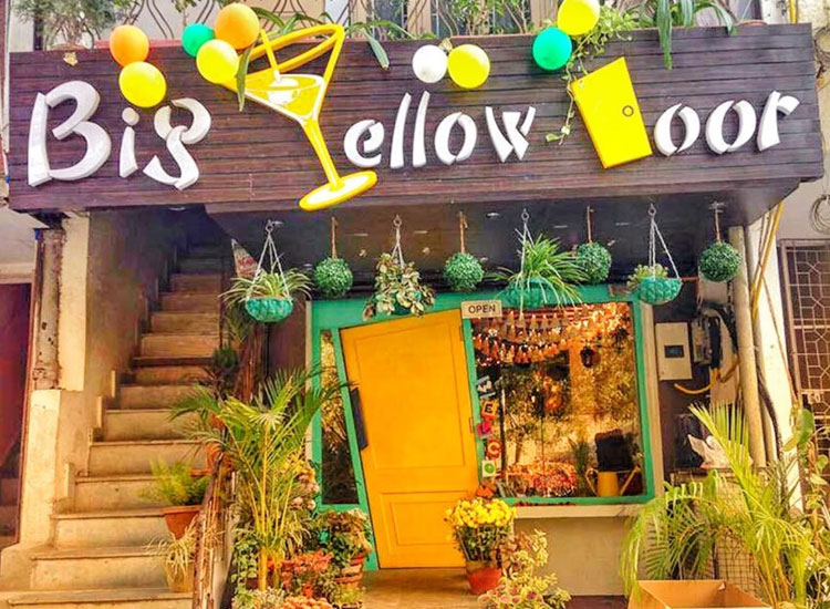 Big Yellow Door in New Delhi