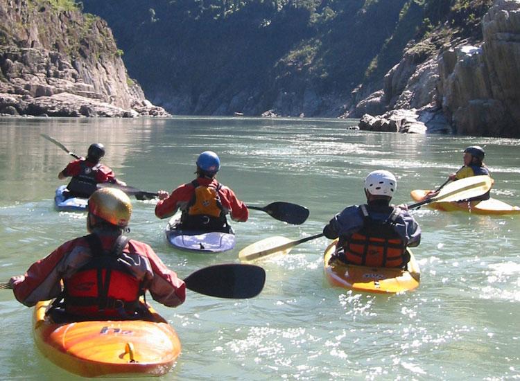 Kayaking in Arunachal Pradesh