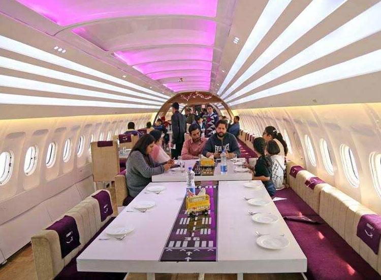 Runway 1 in Delhi- An Airoplane kind restaurant
