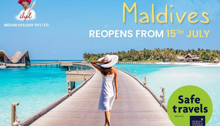 Now Indian Tourists can visit the Maldives again from July 15th