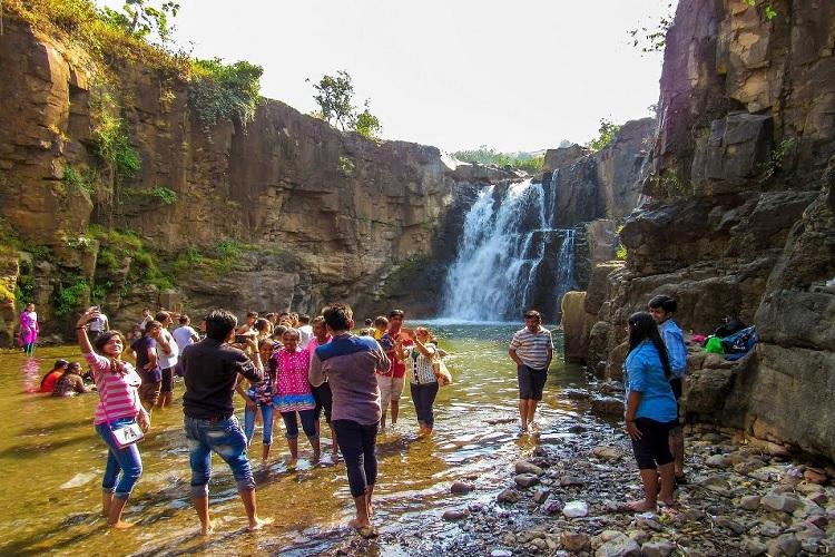 Zarwani Waterfall, Vadodara
