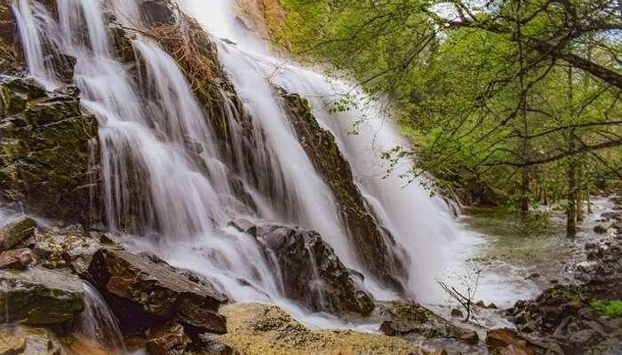Alekan Falls in Chikmagalur