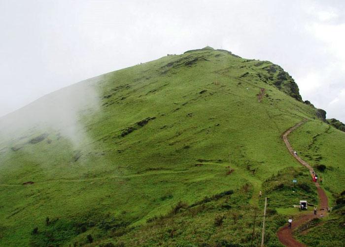 Trekking to Mullayanagiri Mountain Peak