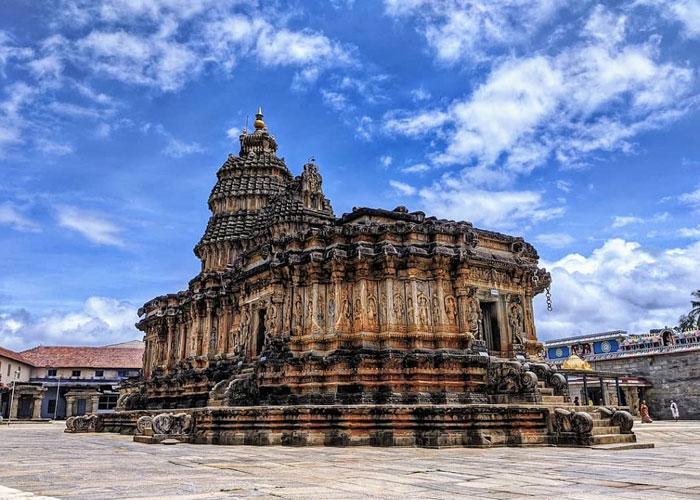 Sharadamba Temple in Chikmagalur