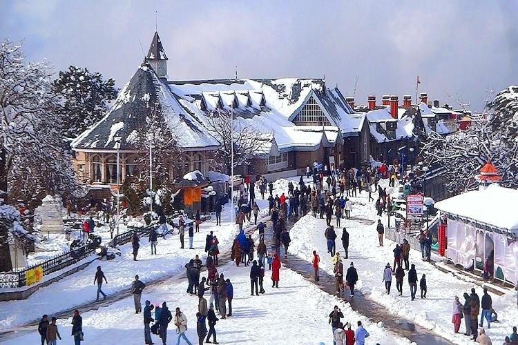 The Ridge of Shimla