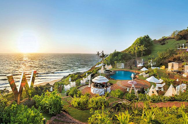 W Goa Hotel Near Vagator Beach