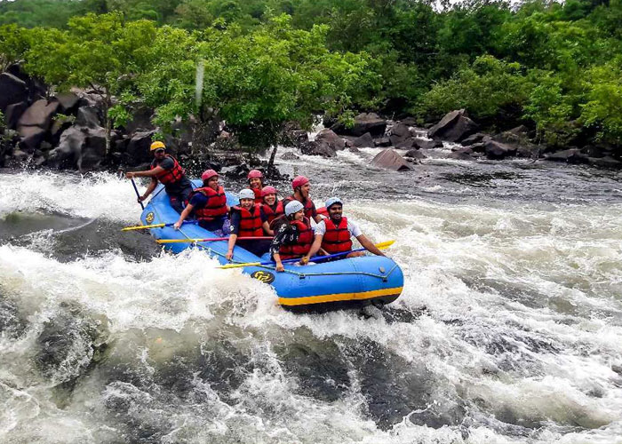 Bhadra River Rafting in Chikmaglur