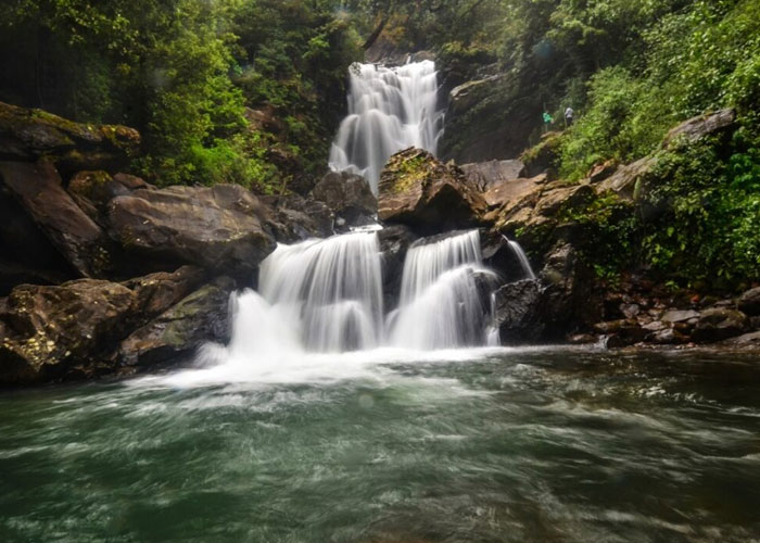 Hanuman Gundi Waterfalls in Karnataka