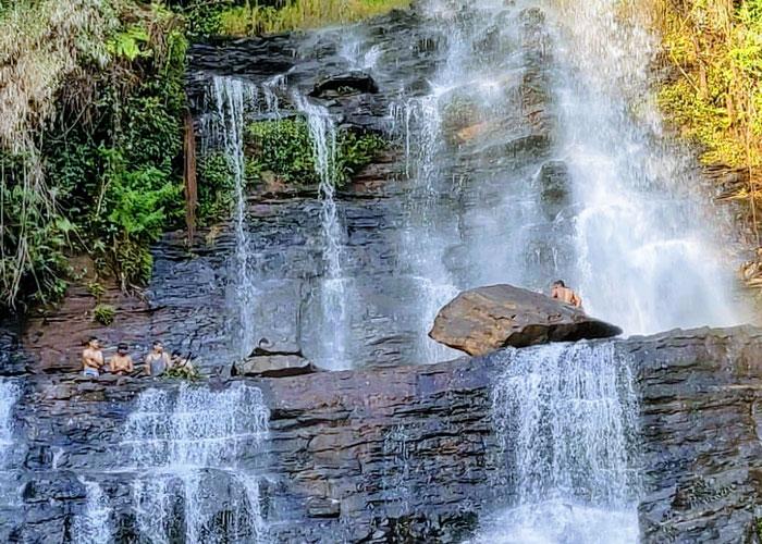 Scenic Jhari Fall