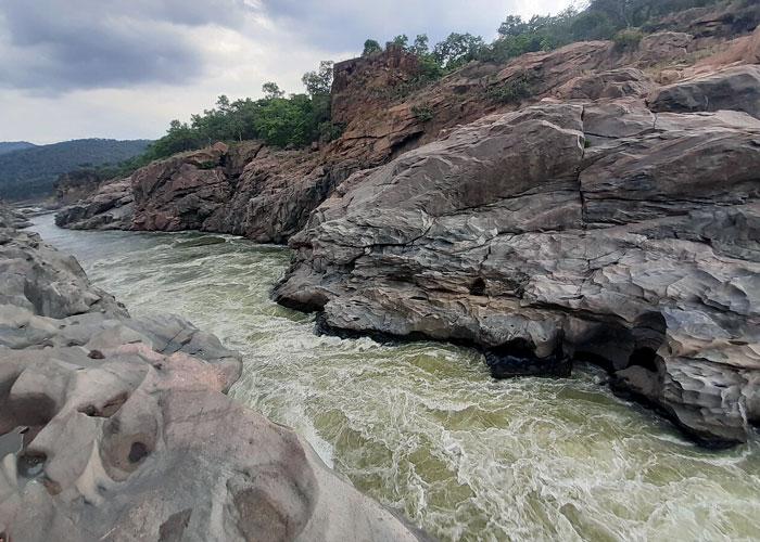 Mekedatu Falls in Karnataka