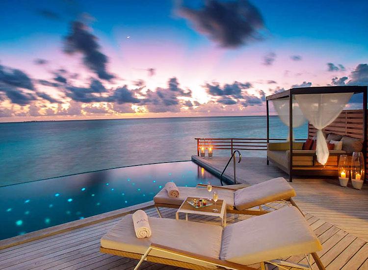 Baros resort in Maldives