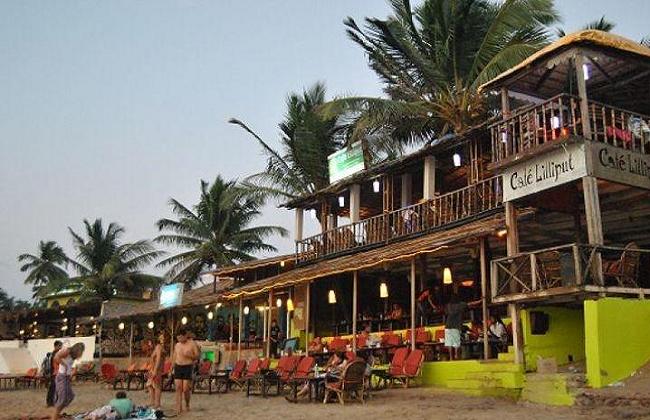 Cafe Lilliput in North Goa